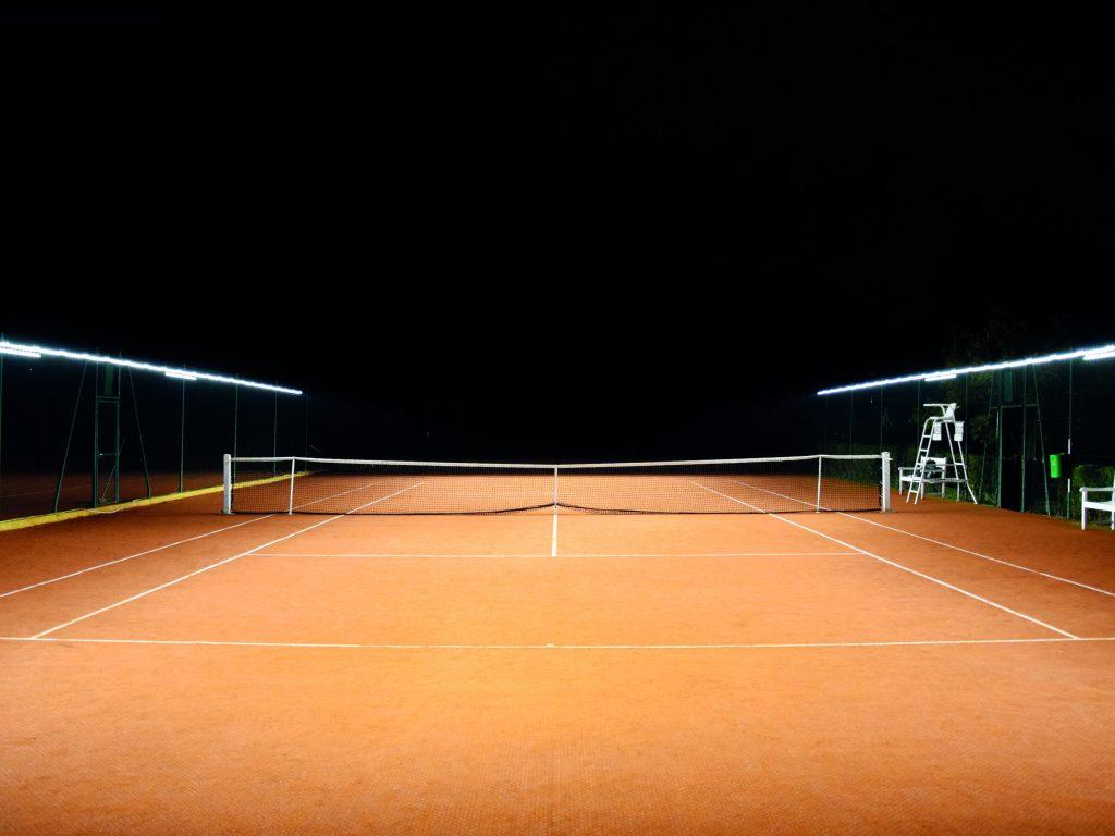 The New Outdoor Tennis Lighting